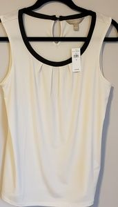 Banana Republic sleeveless blouse (small)